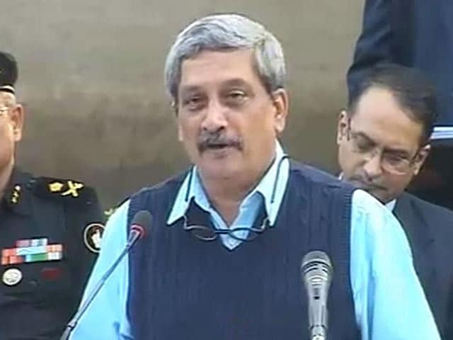 Video : 'I See Some Gaps,' Says Defence Minister On Pathankot Attack