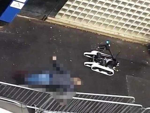 Video : Terror Returns on Charlie Hebdo Anniversary: Police Shoot Man Dead