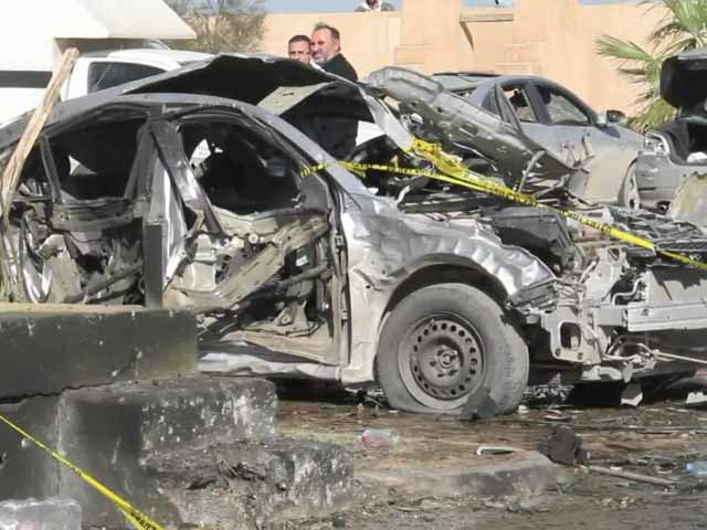 Video : More Than 50 Dead in Bombing at Libya Police School