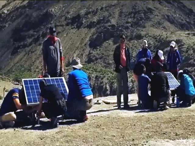Video : गुड़गांव का एक इंजीनियर बना हिमालयी इलाके में रोशनी का दूत