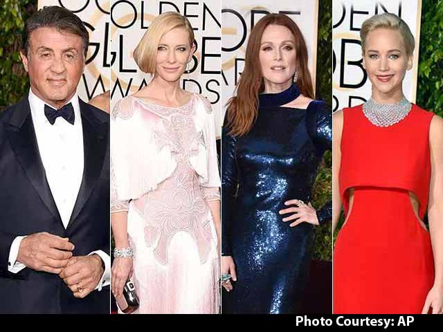 Galaxy of Stars on the Golden Globes Red Carpet