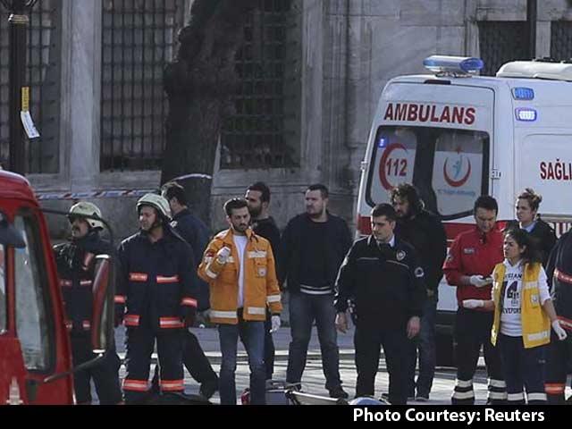 Video : Blast Kills 10 in Istanbul's Tourist Hub