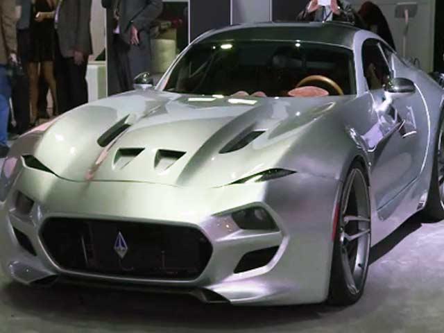 Video : Despite Aston Martin Threats, Fisker Launches 'Force 1' Supercar