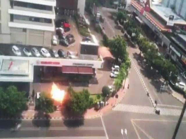 Video : ISIS Officially Claims Responsibility For Jakarta Suicide Attacks