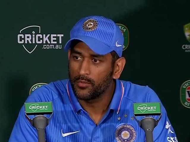 Video : Pressure on Batsmen to Win us Games: Mahendra Singh Dhoni