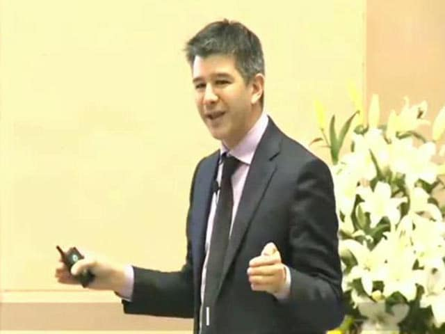 Video : 'I Am The Problem Solver-In Chief': Uber Founder At Mega Start-Up Meet