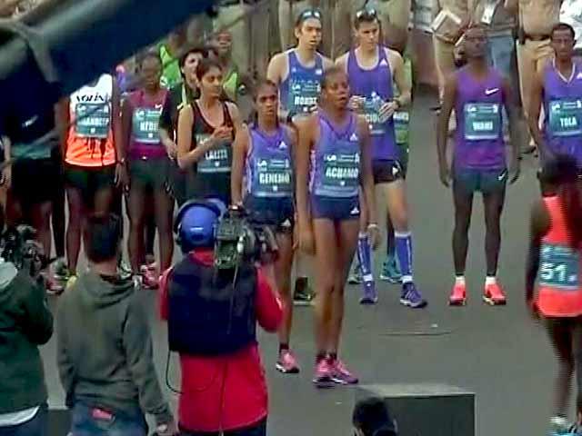 Video : दौड़ रही है मुंबई : देश-दुनिया के धावकों ने लिया हिस्सा