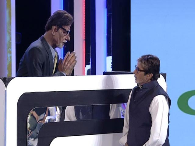 Video : Amitabh Bachchan Takes the Hot Seat