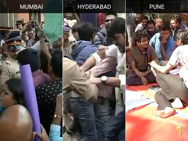Video : High Tide Of Politicians For Hyderabad, Students Say 'Stay Away'