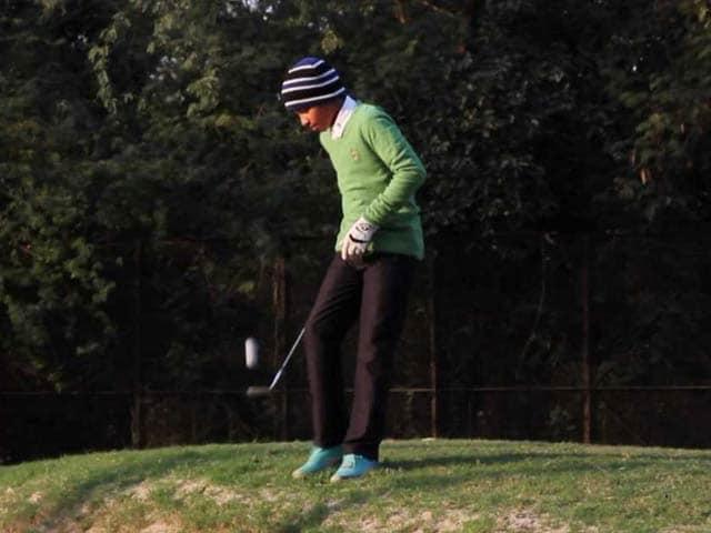 Video : 11-Year-Old Shubham Jaglan Seeks Glory on World Golf Stage
