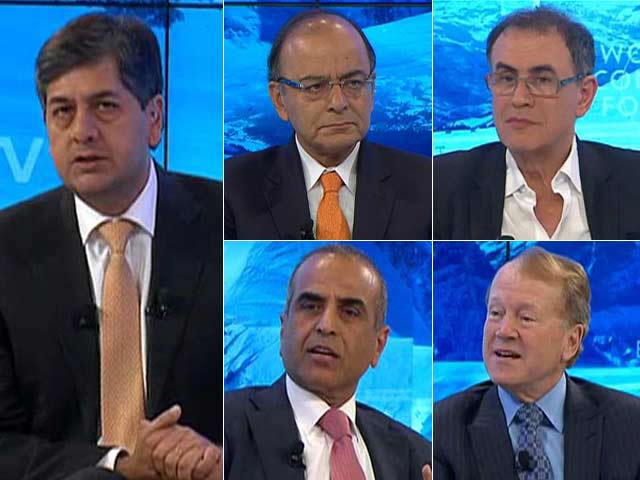 Video : Davos Debate: Is India at the Cusp Of Fourth Industrial Revolution?