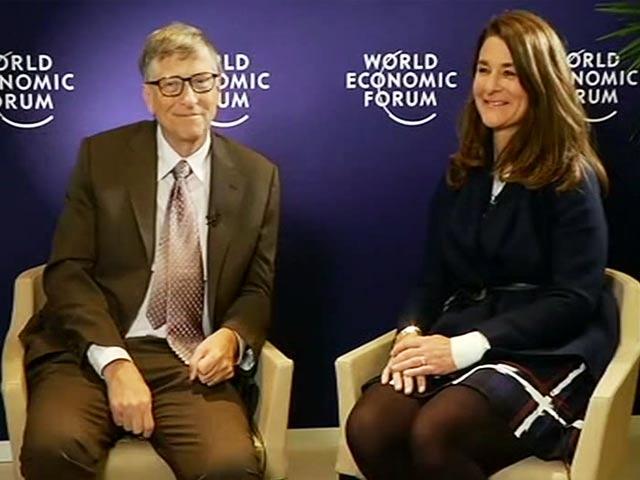 Video : E-Money, Flood-Proof Rice: Melinda, Bill Gates On Innovation For India