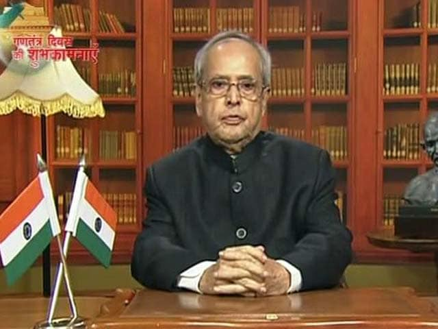 Video : Can't Discuss Peace Under Shower Of Bullets: President Ahead Of R-Day