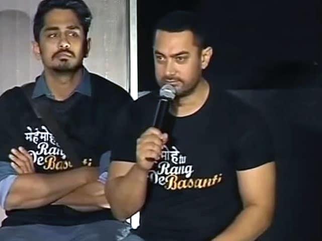 Video : आमिर ख़ान बोले- यहीं पैदा हुआ, यहीं मरूंगा