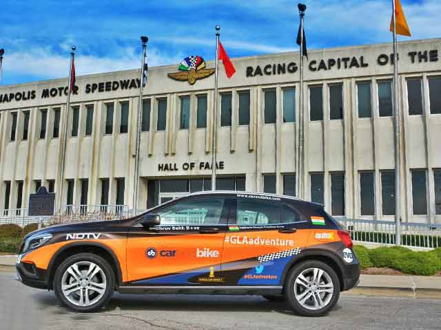 Video : #GLAadventure Explores Indianapolis Motor Speedway and its Museum