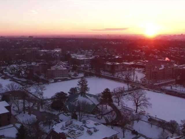 Video : A Bird's-Eye View After a Winter Storm