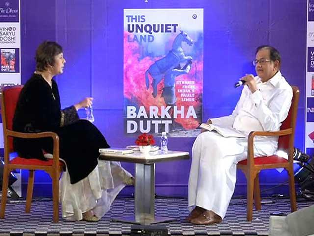 Video : When P Chidambaram Interviewed Barkha Dutt