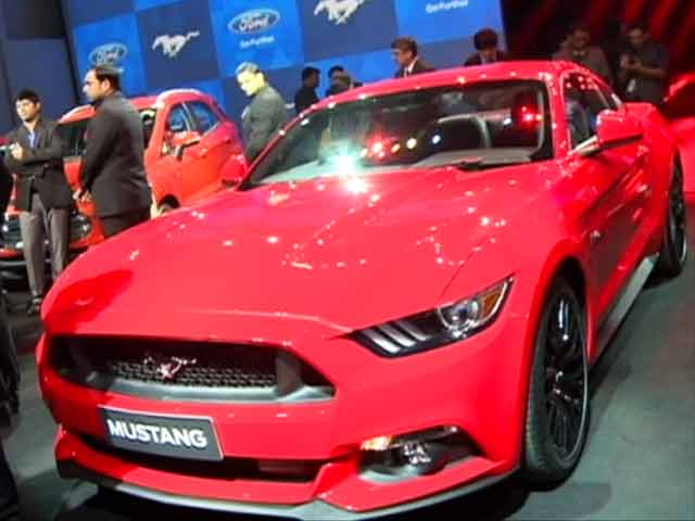 Video : First Look: Ford Mustang