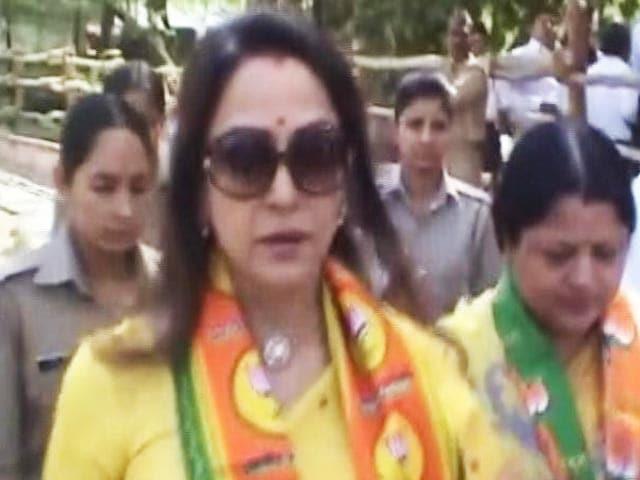 Video : हेमा मालिनी को डांस स्कूल के लिए मिली जमीन पर विवाद