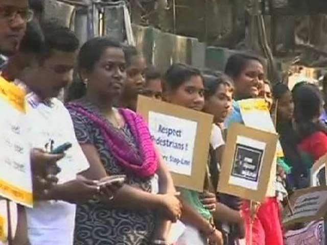 Video : Bangalore, Chennai Support the Cause of Road Safety