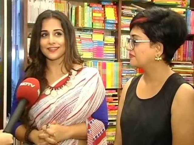 Video : The <i>Dark Side</i> of Vidya Balan
