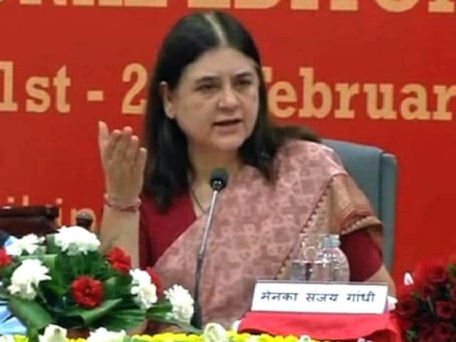 Video : Sex Determination Test Must To Check Female Foeticide: Maneka Gandhi