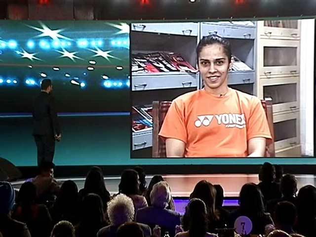 Video : Saina Nehwal's Thumbs Up For Deepika Padukone In Biopic
