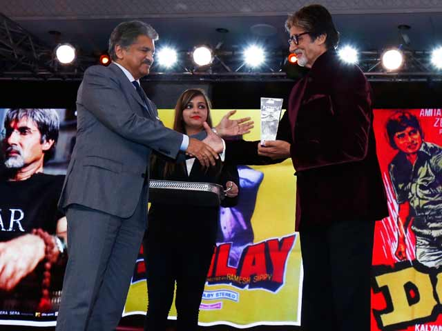 Video : At NDTV Indian of the Year, a Roomful of Big B Fans