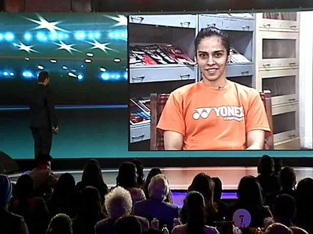 Videos : एनडीटीवी इंडियन ऑफ द ईयर : साइना नेहवाल बनी स्पोर्ट्स पर्सन ऑफ द ईयर