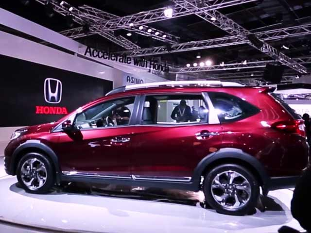 Honda Brings BR-V to 2016 Auto Expo