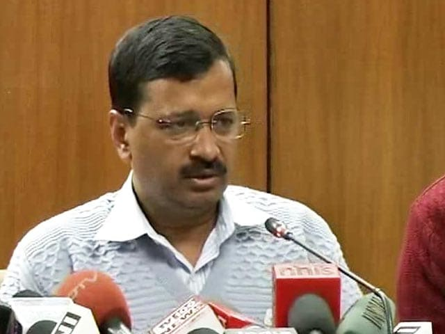 Video : It's Back. Arvind Kejriwal Announces Odd-Even From April 15