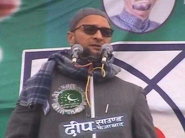Video : Asaduddin Owaisi, UP's New Gladiator, Sets The Tone For 2017