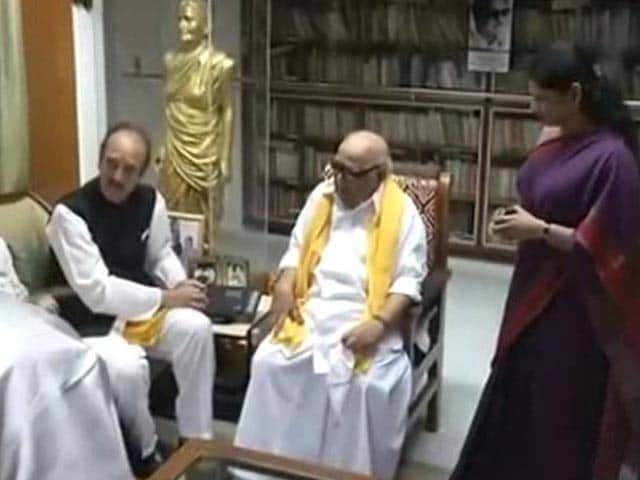 Video : DMK, Congress Join Hands For Tamil Nadu Assembly Polls