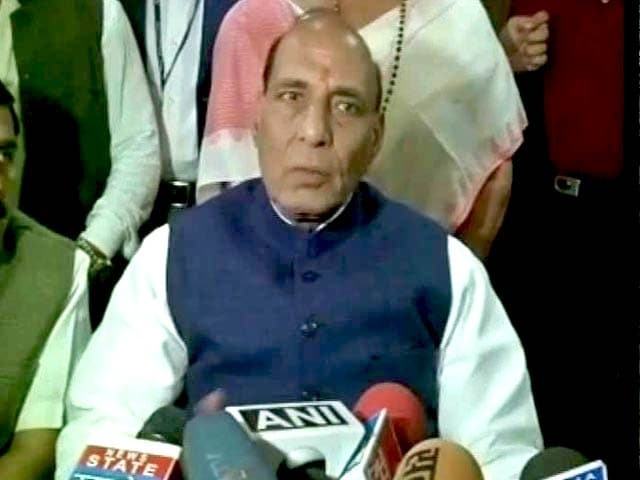 Video : JNU Protests Supported by Lashkar Chief Hafiz Saeed, Says Rajnath Singh