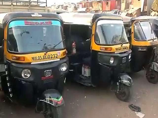 Videos : परमिट फीस बढ़ाए जाने के खिलाफ मुंबई में ऑटो चालकों की हड़ताल