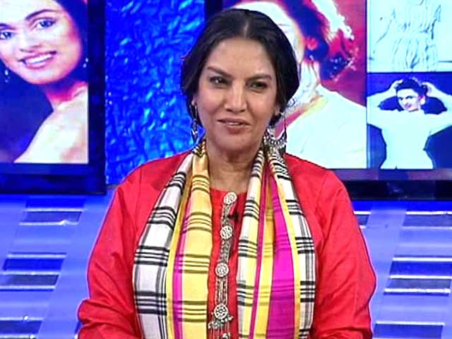 Video : Youth Needs Role Models: Shabana Azmi