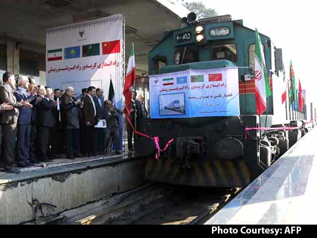 Video : First 'Silk Road' Train Arrives in Tehran From China