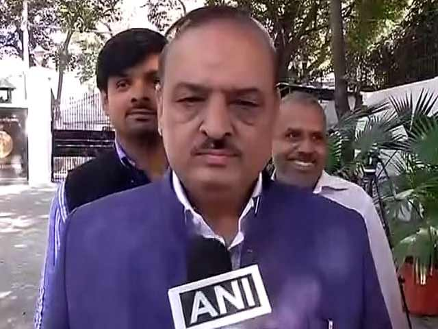 Video : 'Natural Act', Says BJP's OP Sharma About The Thrashing He Gave