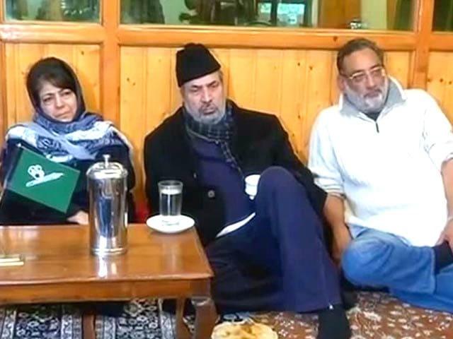 Video : Mehbooba Mufti Agrees To Meet BJP This Week: Sources