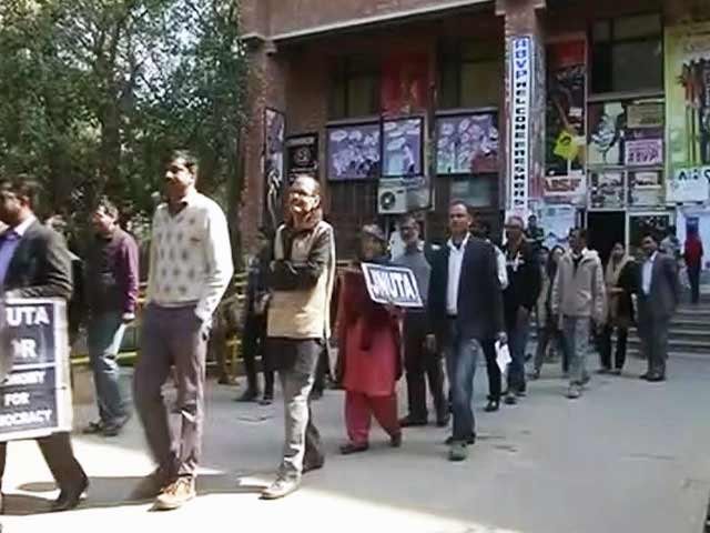 Video : जेएनयू मामले पर दिल्ली पुलिस की रिपोर्ट, कन्हैया भी था मौजूद