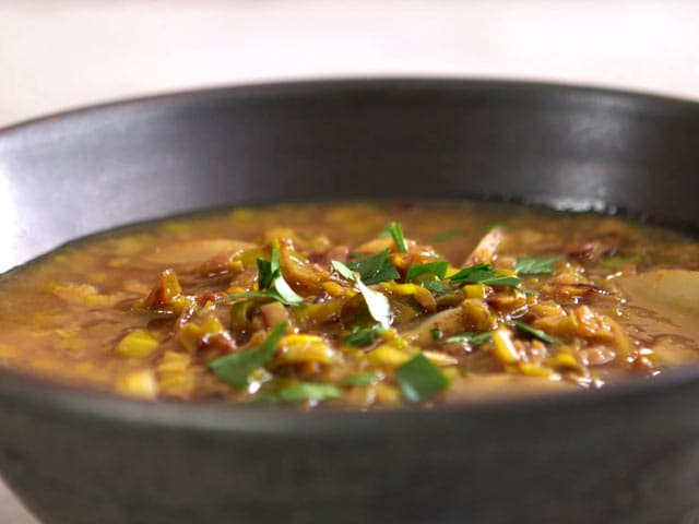 Video : Golden Leek and Potato Soup