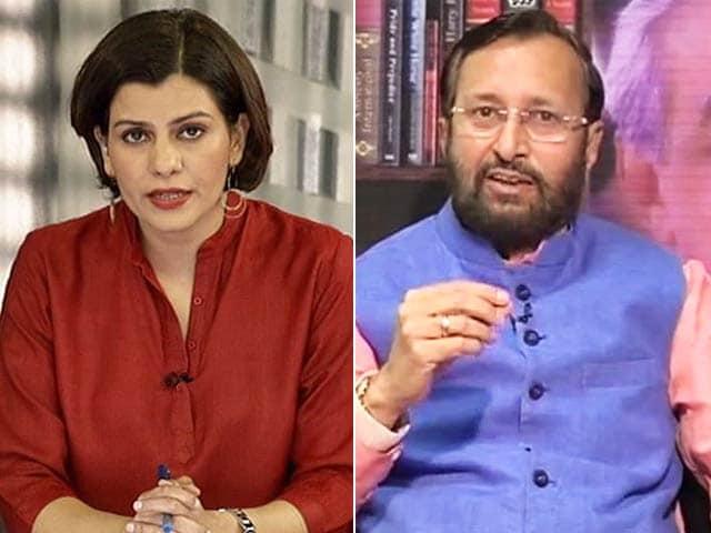 Video : JNU Incident Trigger For All Other Violence: Prakash Javadekar