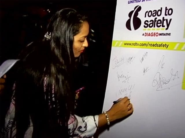 Video : Pledge to Never Drink and Drive, Make Roads Safer