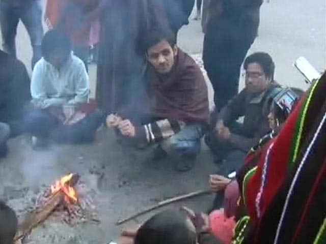 Video : Dramatic Standoff At JNU As Students Accused Of Sedition Surface