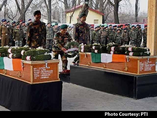 Video : India Pays Homage To Soldiers Killed Fighting Terrorists in Pampore