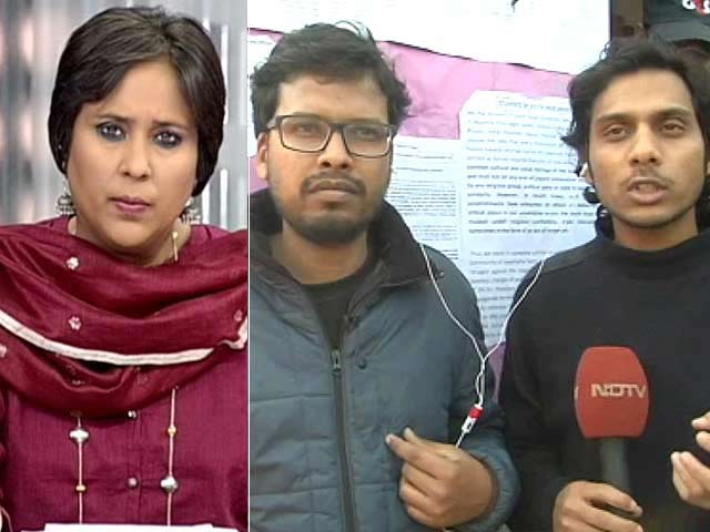 Video : Back On Campus, JNU Students Charged With Sedition Speak Out