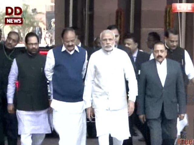 Video : Hopeful Of Constructive Debate, Says PM Ahead Of Budget Session