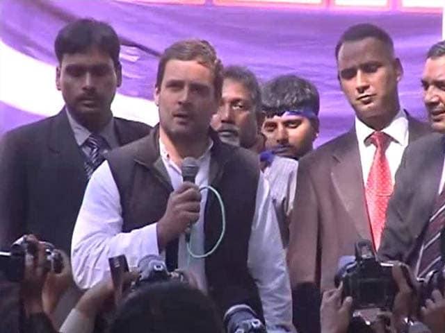 Video : Rahul Gandhi Joins Students Marching For Rohith Vemula, Kanhaiya Kumar