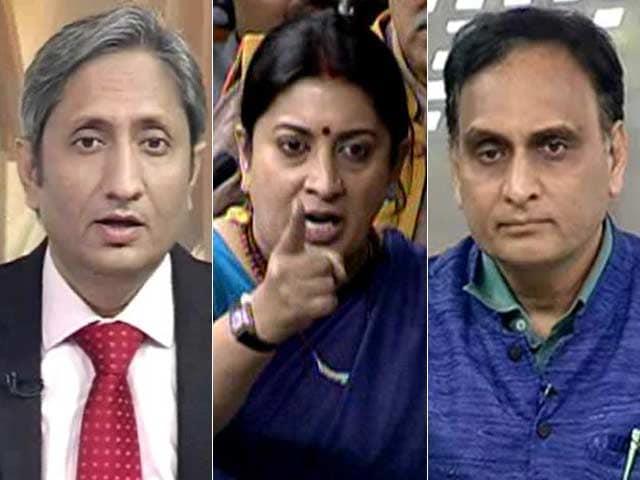 Video : प्राइम टाइम : जेएनयू, रोहित वेमुला के मुद्दे पर संसद में हंगामा
