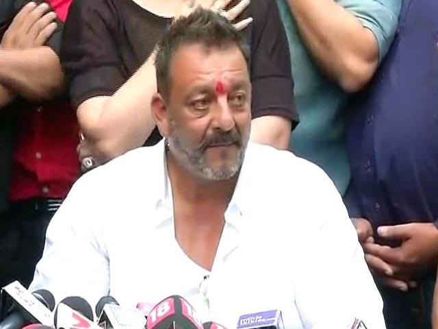 Videos : 23 साल से इस आजादी का इंतजार कर रहा था : संजय दत्त